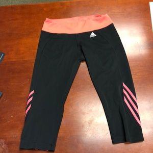 Adidas climate crop leggings